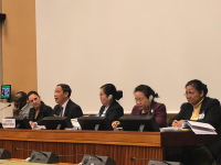 The Lao Delegation Attended the UN Review on its Implementation Under the International Convention on Elimination of All Forms of Discrimination Against Women (CEDAW) in Geneva, Switzerland