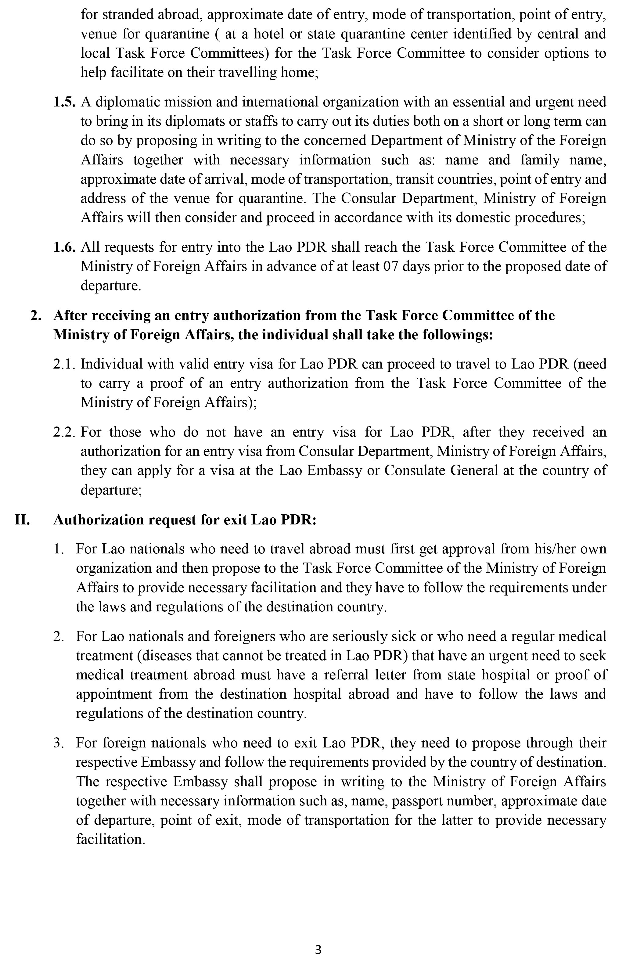 MOFA-Procedural Advisory on documentation and steps 1861-3
