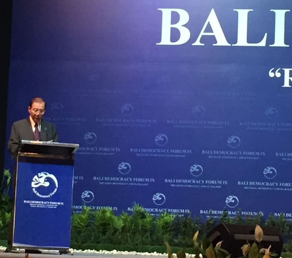 bali forum speech